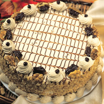 Nougat Cake (Limited cities)send-flower-Sadashivanagar