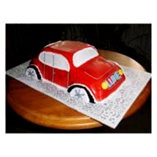 Car Shape Cakesend-flower-Vasanthnagar