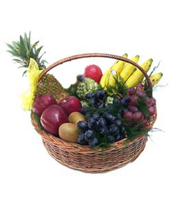 4 KG Mix Fruits Medium Size Basket
